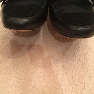 Donald J. Pliner Shoes - Donald J Pliner Pony Hair Mules with Kitten Heel
